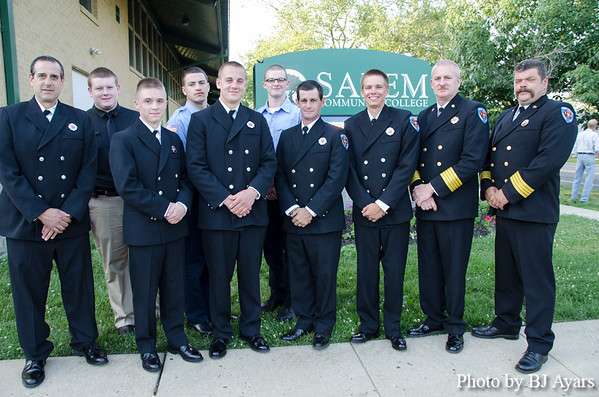 2013 Salem County Fire Academy Graduation