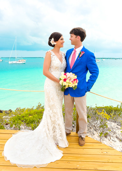 Destination Wedding at Peace n Plenty in Exuma Bahamas photo by Reno Curling #renocurling
