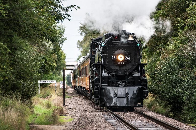 RXR Tower E 14 Train 261