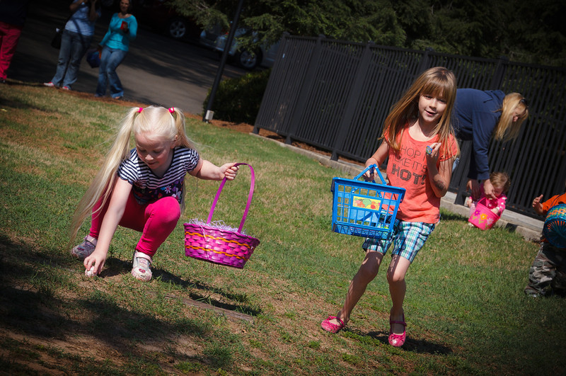 Easter Egg Hunt at Carrington Cove Apartments - April 2012