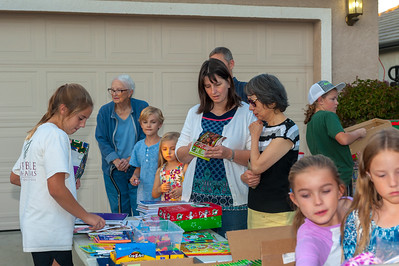 Operation Christmas Child - Packing Shoe Boxes