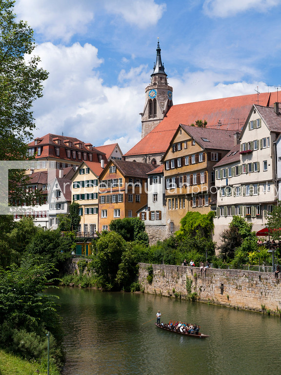 In Tübingen, a traditional university town in central Baden-Württemberg, Germany.