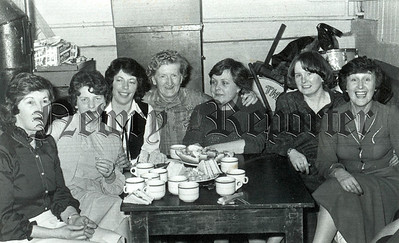 Forkhill INF ladies committee who catered for patrons