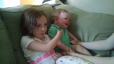 Maddie & Will - May 2015