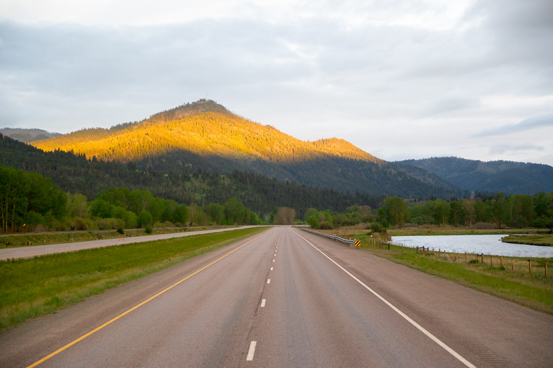 Western Montana At Sunrise