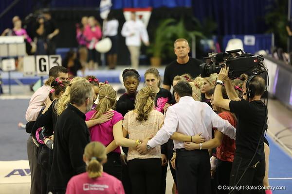Gators Gymnastics 'Link to Pink' 1.25.13