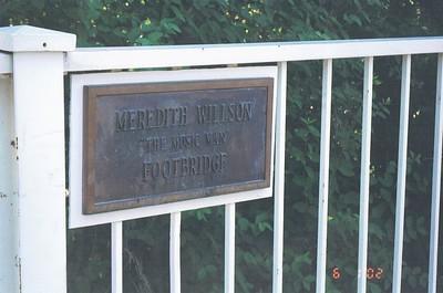 Iowa 2002 - Meredith Wilson dedication