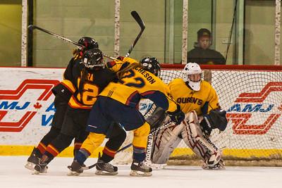 Women's Hockey - Queen's at Guelph - OUA Finals 20110302