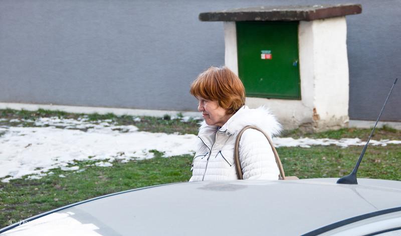 "Magda sadly says ""goodbye"""