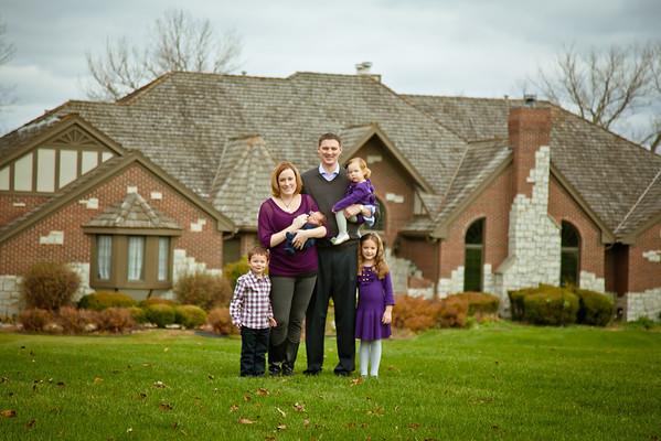 Craig Family, November 2012