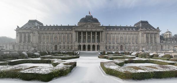 Bruxelles sous la neige Février 2018