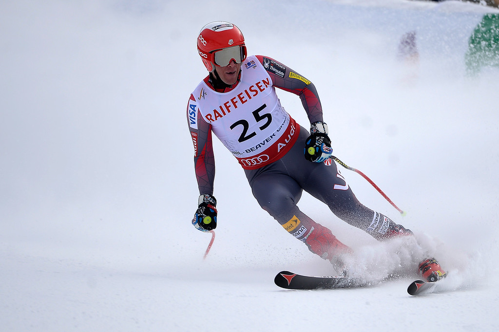 . BEAVER CREEK, CO - FEBRUARY 03: USA skier Marco Sullivan competes during the the men\'s downhill training. FIS Alpine World Ski Championships 2015 on Tuesday, February 3, 2015. (Photo by AAron Ontiveroz/The Denver Post)