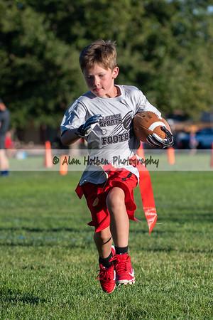 9/1 - 1st Grade - Eagles vs Raiders