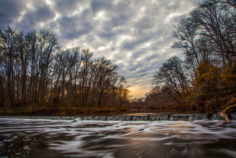 Haw River Sunset