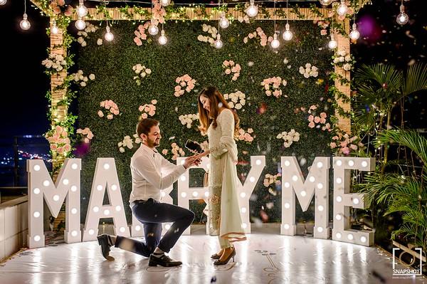 Asaad & Rahma Proposal Dinner