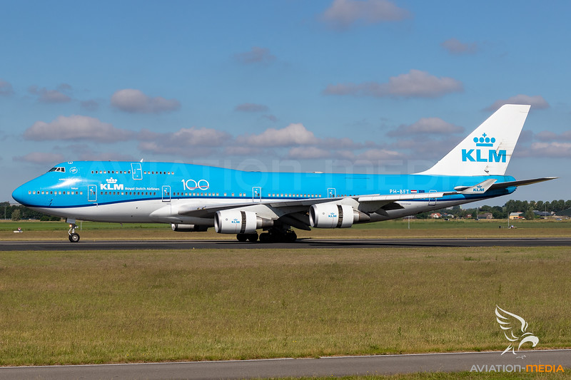 KLM / Boeing 747-400 / PH-BFT