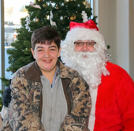 Amsterdam NY Kitten Adoptions with Santa and Mrs Claus at Super Shoes 12-10-2016