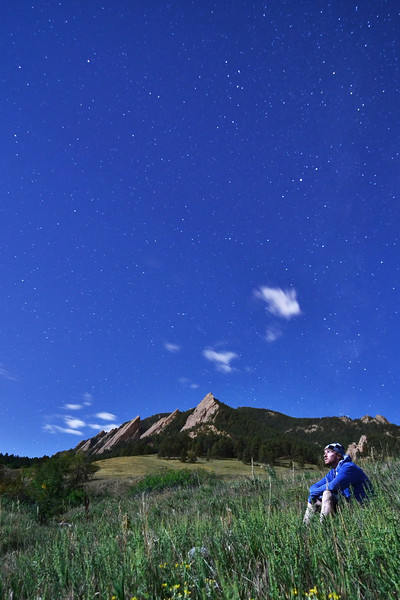 Stars and the flat Irons - Boulder CO