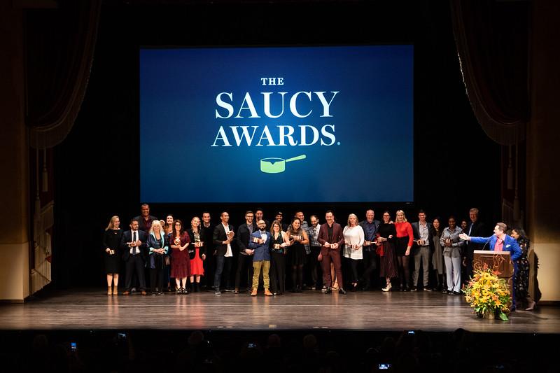2018 Saucy Awards