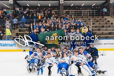 Boys' Hockey Championship vs. WSW (February 25, 2019)