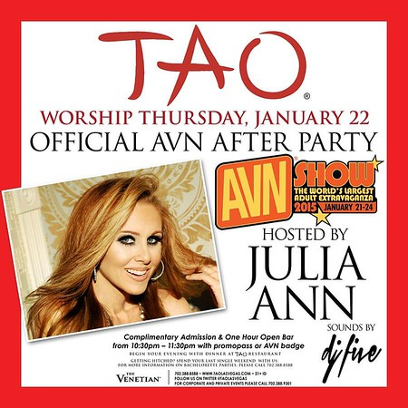 AVN Afterparty @ Tao 01.22.15