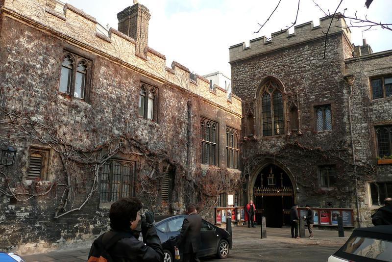 Westminster Abbey from Dean's Yard. London
