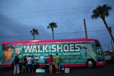 "03-28-14 ""Walk In My Shoes"" Hilton Melbourne to Canova Beach Park By Omar Vega"