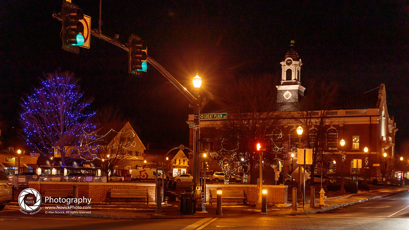 Needham Town Hall Menorah Lighting