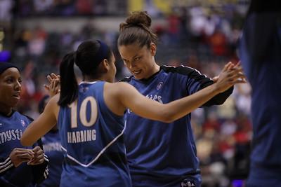 WNBA: Wash. Mystics vs Ind Fever