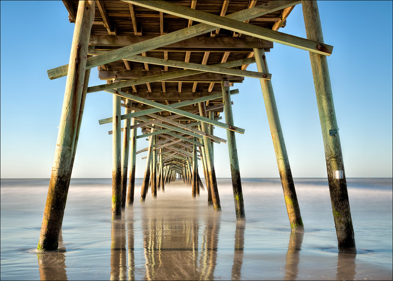 Atlantic Beach pier, NC