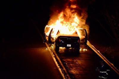 Croton on Hudson, Vehicle Fire, Rt9 SB