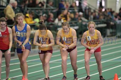 5000M Women's Heat 1 - 2016 GLIAC Indoor