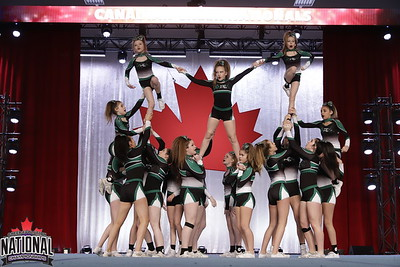 Apex Cheerleading Shawinigan  Furious - IASF Junior 3
