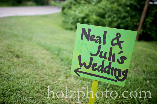 Juli and Neal Color Wedding Photos (Louisville, KY)