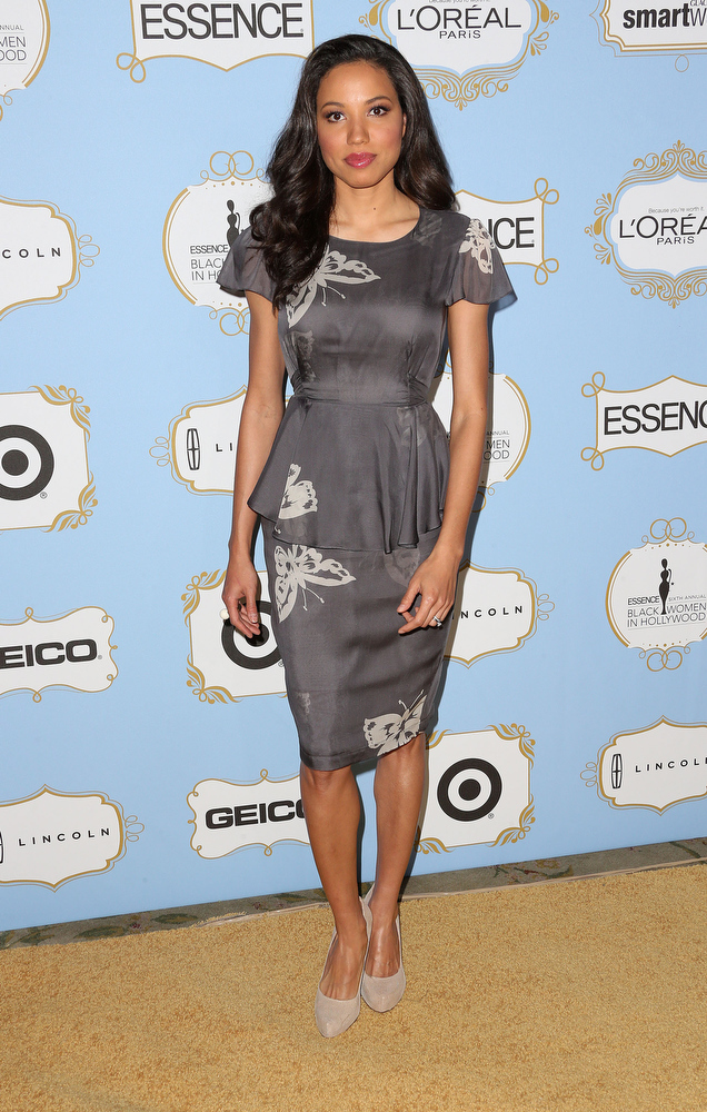 . Actress Jurnee Smollett-Bell attends the Sixth Annual ESSENCE Black Women In Hollywood Awards Luncheon at the Beverly Hills Hotel on February 21, 2013 in Beverly Hills, California.  (Photo by Frederick M. Brown/Getty Images)