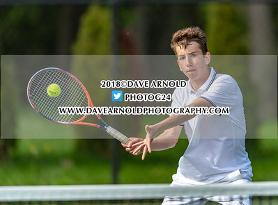 5/9/2018 - Boys Varsity Tennis - Wellesley vs Needham