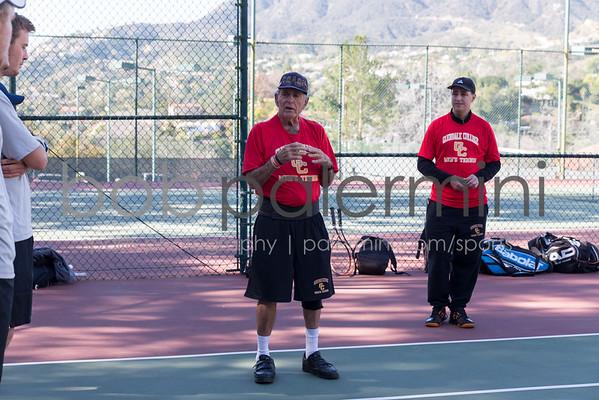 GCC Men's Tennis vs Riverside College 2-11-16