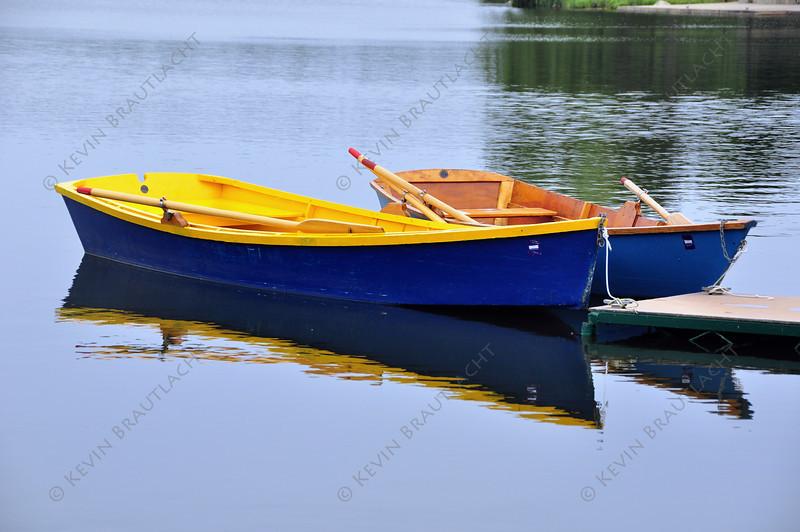 Rowboats at Hoyt Lake, Delaware Park, Buffalo, NY