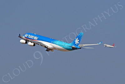 Air Tahiti Nui Airline Airbus A340 Airliner Pictures