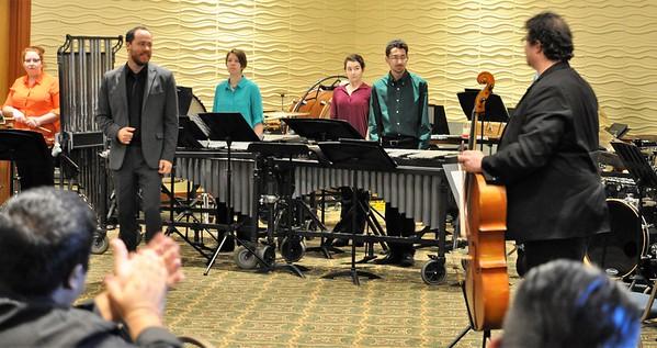 2017-01-27 to 28 Percussion Ensemble at GMEA (MJ Hendrickson)
