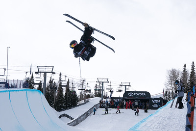 Jan 9-12, 2018 - Snowmass halfpipe World Cup