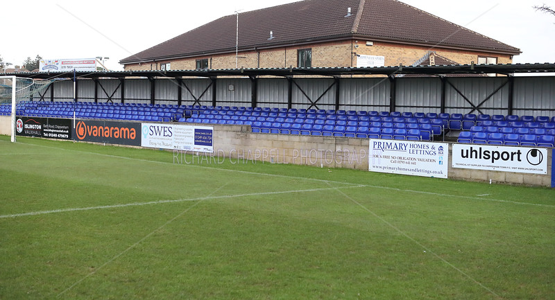 NEW STAND SEATING IN THE TOWN END