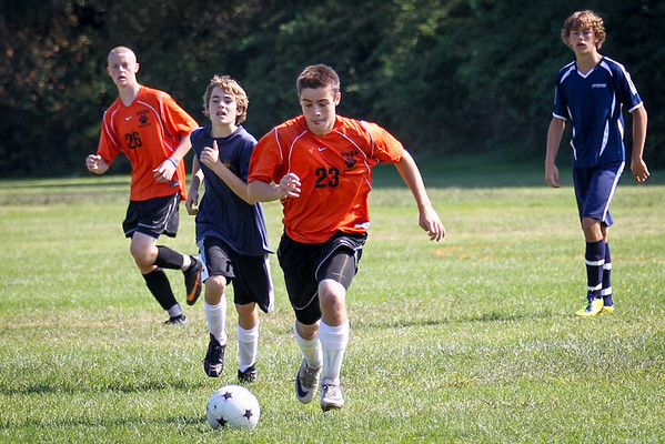 2012 NNHS JV Soccer vs. Cohassett - JRP