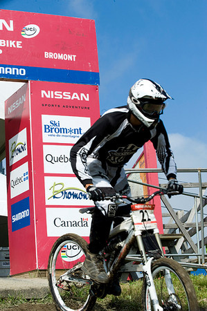 Nissan UCI MTB World Cup, Downhill Men and Women, Bromont
