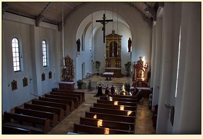 24. Februar 2012, St. Nikolaus, Argelsried, Mamis Trauerfeier