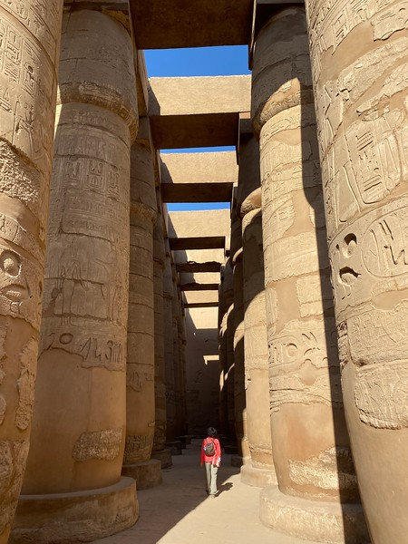 I could've wandered through Hypostyle Hall all day!