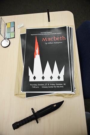 Macbeth, LFA's Fall Play 2019