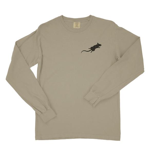 Organ Mountain Outfitters - Outdoor Apparel - Mens T-Shirt - Desert Rat Long Sleeve Tee - Khaki Front 2.jpg