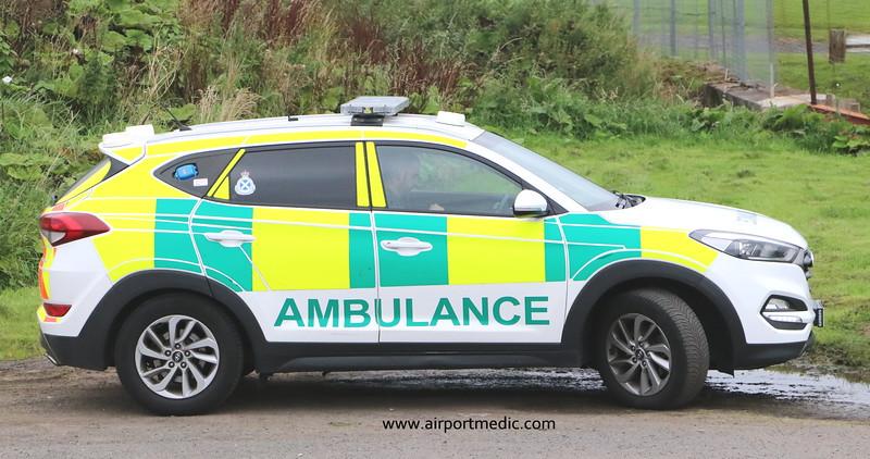 Scottish Ambulance Service Hyundai Tuscon