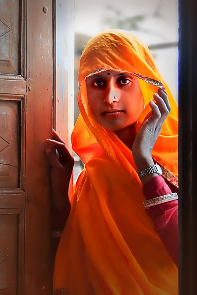 Young Indian Woma